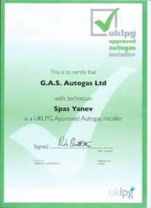 GAS Autogas Ltd are UKLPG Approved Installers